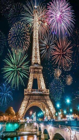 Обои на телефон франция, фейерверк, счастливое, париж, огонь, новый, год, new year 2021 paris, happy.new, Paris