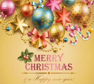 Обои на телефон украшение, счастливое, сезон, рождество, приветствия, декор, season greetings