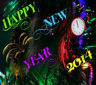 Обои на телефон празднование, счастливые, рождество, новый, крутые, красочные, год, happy, 2014