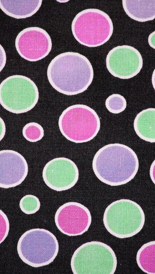 Обои на телефон точки, черные, фиолетовые, ткани, текстуры, розовые, зеленые
