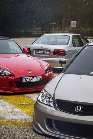 Обои на телефон хонда, машины, s2000, honda, hd