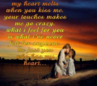 Обои на телефон любовники, чувства, сердце, поцелуй, пара, мой, любовь, высказывания, melt, love, in my heart, embrace