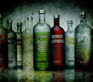 Обои на телефон alchol, bottles, label, absolut vodka, крутые, новый, напиток, жидкость, водка