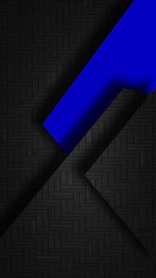 Обои на телефон треугольники, черные, супер, синие, дизайн, абстрактные, s7