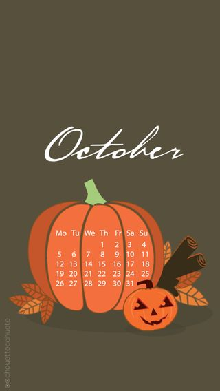 Обои на телефон хэллоуин, октябрь