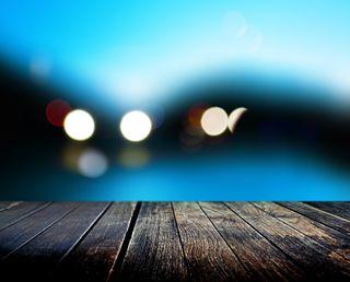 Обои на телефон абстрактные, синие, вода, цветные, огни, лучшие, размытые, расплывчатые