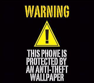 Обои на телефон экран, предупреждение, кража, забавные, блокировка, warning lock screen, anti theft