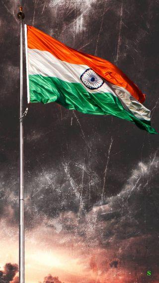 Обои на телефон индия, флаг, триколор, индийские, india flag