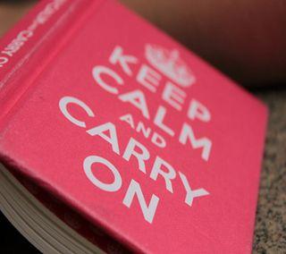 Обои на телефон спокойствие, книга, жизнь, keep calm, carry on, 1440x1280