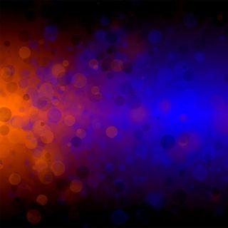 Обои на телефон боке, синие, оранжевые, красочные, абстрактные, colorful bokeh