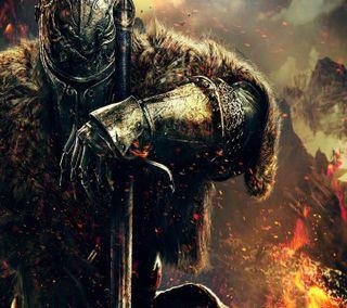 Обои на телефон солдат, меч, игровые, gaming wallpaper