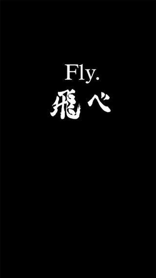 Обои на телефон хината, хайкю, высокий, летать, kageyama, fly high