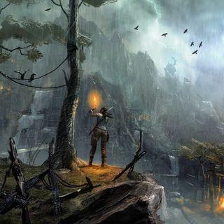 Обои на телефон игра, tomb, raider, lara, hd, croft, 2013