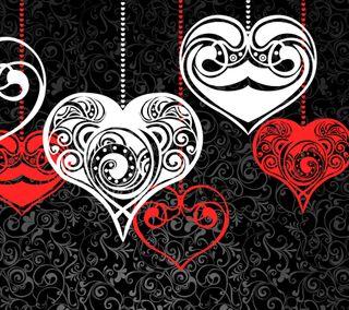 Обои на телефон элегантные, случаи, сердце, праздник, день, elegant hearts