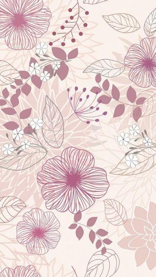 Обои на телефон узоры, цветы, цветочные, розовые, природа