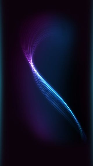 Обои на телефон эффекты, экран, шаблон, синие