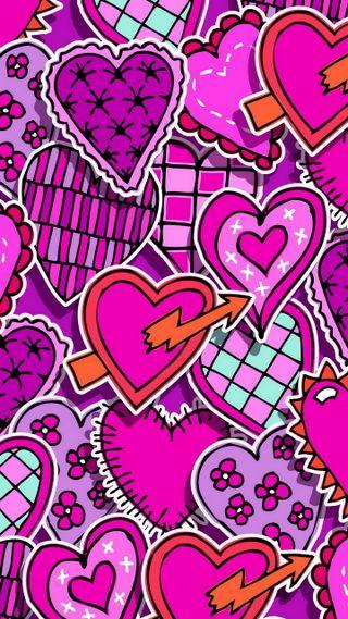 Обои на телефон губы, сердце, поцелуй, навсегда, любовь, love
