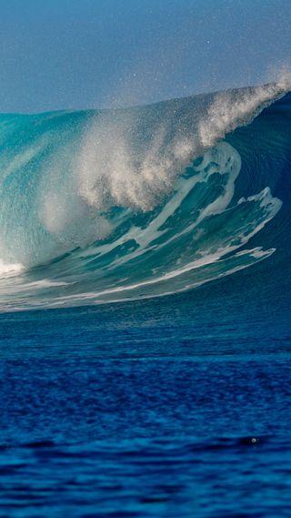 Обои на телефон море, волны