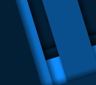 Обои на телефон материал, синие, дизайн, андроид, blue material, android