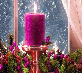Обои на телефон свеча, счастливые, романтика, ночь, romantic night, romantic candle, 2014