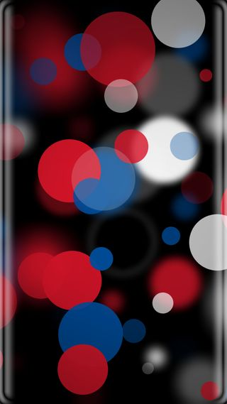 Обои на телефон черные, точки, синие, красые, красочные, грани, боке, абстрактные, s7 edge, s7