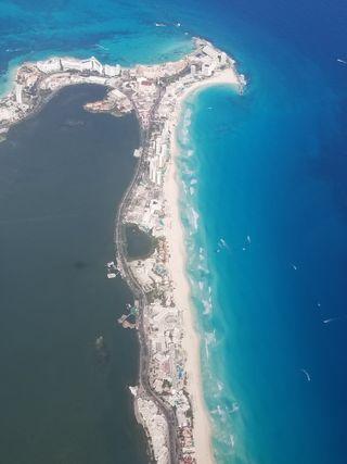 Обои на телефон мексика, пляж, океан, вода, cancun mexico