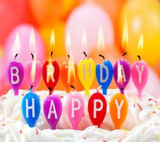 Обои на телефон пожелания, цветные, счастливые, приятные, моменты, день рождения, happy