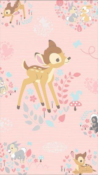 Обои на телефон кролики, счастливые, розовые, коричневые, дисней, happy, disney, dear, bumble, bambie