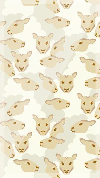 Обои на телефон ягненок, погода, природа, лев, животные, весна, zedgelamb, lambs