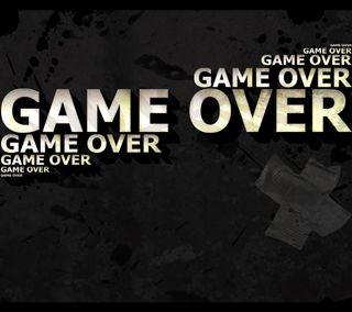 Обои на телефон конец, игры, игра, game over