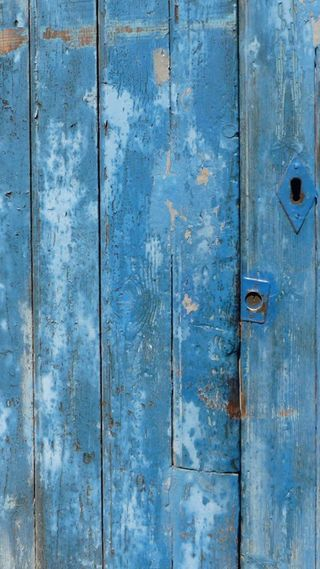 Обои на телефон деревянные, дверь