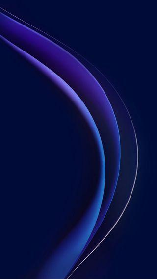 Обои на телефон честь, стандартные, синие, графические, абстрактные, honor 8