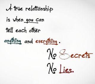 Обои на телефон приятные, правда, отношения, новый, ложь, tell, secrets, no secrets or lies, no, everything