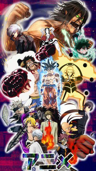 Обои на телефон токио, сказочные, панч, наруто, мяч, дракон, герой, боку, блич, аниме, dragon ball z