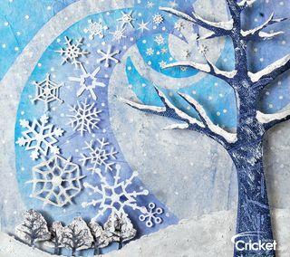 Обои на телефон крикет, рождество, зима, дети, деревья, арт, zedgecrickmas, winter trees, art