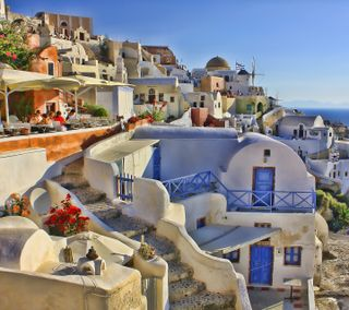 Обои на телефон греция, природа, greece2008