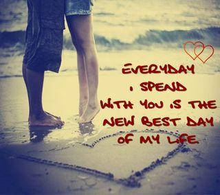 Обои на телефон вместе, романтика, приятные, поговорка, новый, мой, мальчик, любовь, лучшие, жизнь, день, девушки, love, best day of my life
