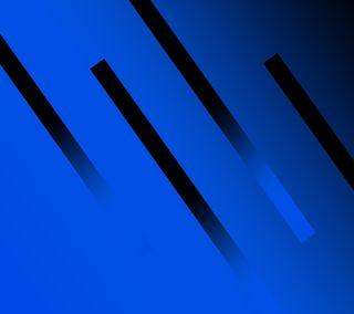 Обои на телефон полосы, черные, цветные, синие