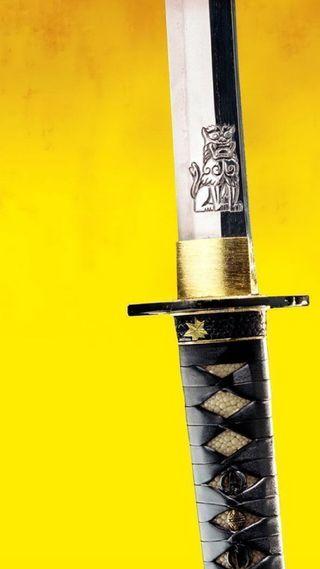 Обои на телефон самурай, меч, другие