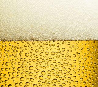 Обои на телефон пиво, желтые, abstract029