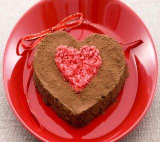 Обои на телефон шоколад, торт, сердце, любовь, love