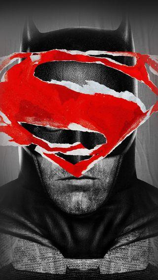 Обои на телефон супермен, бэтмен