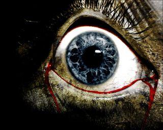 Обои на телефон жуткие, кровь, зло, готические, глаза, evil eye, creepy eye