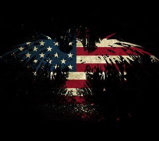 Обои на телефон флаг, сша, америка, usa