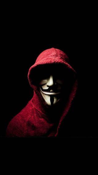 Обои на телефон хакер, маска, взлом