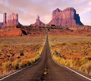 Обои на телефон хайвей, рок, прекрасные, пейзаж, красые, дорога, red rock, beautiful highway