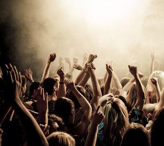 Обои на телефон рок, концерт