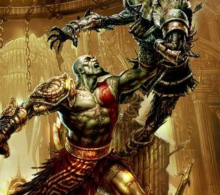 Обои на телефон роман, кратос, греческий, герой, война, бой, боец, бог, mythology, god of war