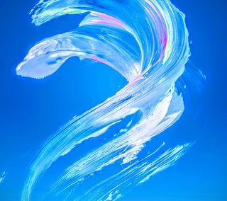 Обои на телефон лед, сони, синие, вода, белые, абстрактные, xperia x ice, xperia x, sony