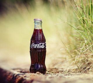 Обои на телефон напиток, кока кола, бутылка, soda